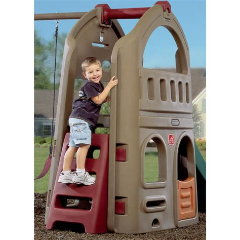 step2 naturally playful playhouse climber and swing step 2 174 naturally playful 174 playhouse climber and swing