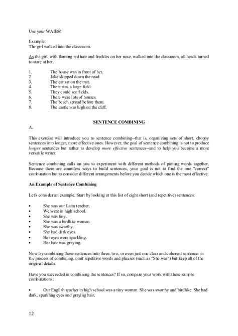 basic sentence pattern report basic sentence patterns in english