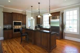 kitchen colors with wood cabinets two tones style with kitchen colors with dark wood