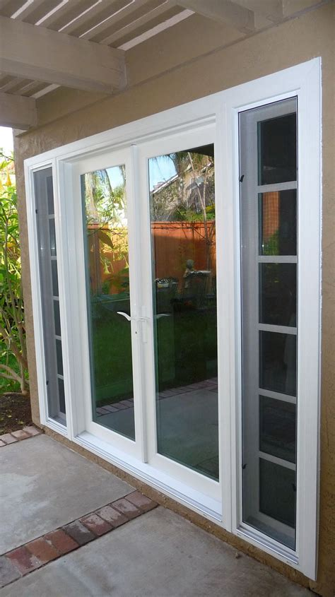 Patio Door With Sidelights Sliding Patio Doors With Patio Doors With Sidelights