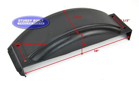 plastic boat trailer fenders with lights plastic trailer fender for boat trailer single 8 x 20 1 2