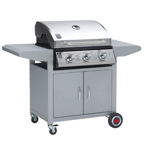 barbecue landmann landmann 3 burner gas barbecue stainless steel roasting bbq cooking grill ebay