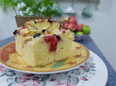 pastry fruit cake kek viral  ketika dulu nak cuba