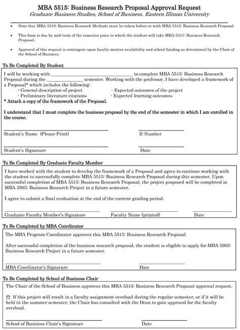 Choose From 40 Research Proposal Templates Exles 100 Free Research Template