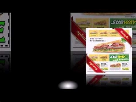 printable subway coupons 2012 25 best ideas about printable subway coupons on pinterest