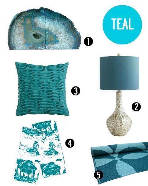 home decor accents in the summer hues