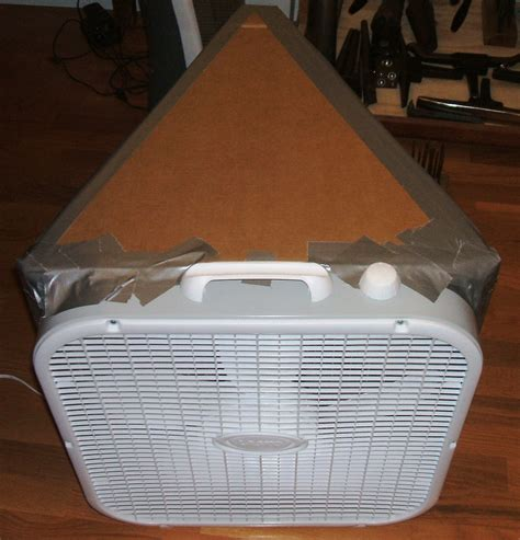 box fan filter woodworking studio workshop large particulate air filter marshall