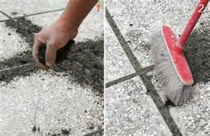 riempire fughe piastrelle come posare le piastrelle da giardino su sabbia guida