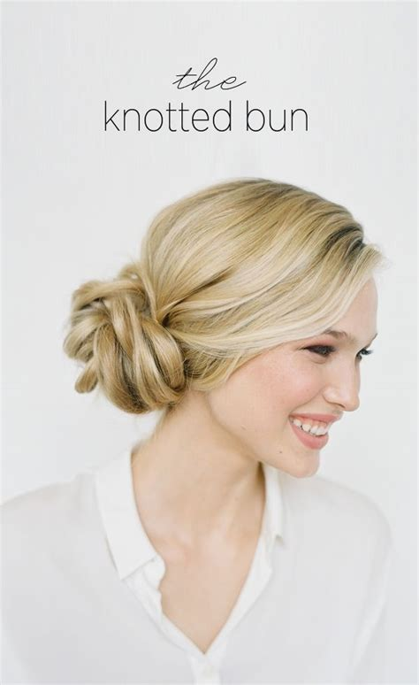 easy hairstyle how tos 101 cute easy bun hairstyles for long hair and medium hair