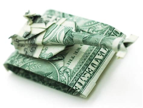 dollar origami by won park des origami avec des billets de banque ufunk net