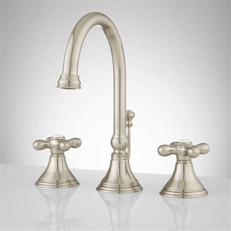widespread bathroom faucets melanie widespread gooseneck bathroom faucet cross handles widespread faucets bathroom