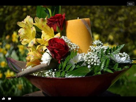 Candle Arrangements For Coffee Table Coffee Table Candle Arrangement Yours Truly Flowers