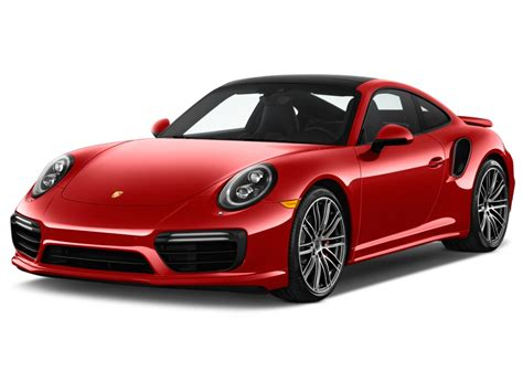 Used Porsche Boxster For Sale Image 2017 Porsche 911 Turbo Coupe Angular Front Exterior