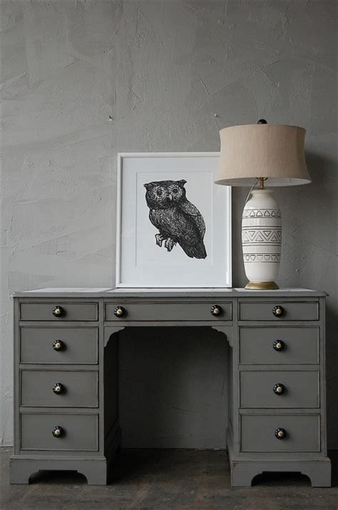 17 best images about decorating crafty on how to paint painting furniture and gray desk