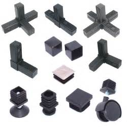 Table L Fittings Uk 25mm 1 Quot Metal Square Speed Frame Fittings Plastic