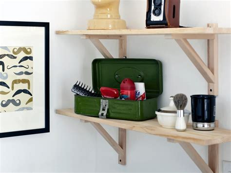 teen boys bathroom decor secure storage this beautiful vintage toolbox complements the room s style and gives