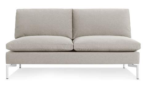 Armless Sofa New Standard Armless Sofa Hivemodern
