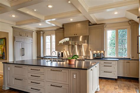 Taupe Kitchen Cabinets Taupe Kitchens Transitional Kitchen The Wills Company