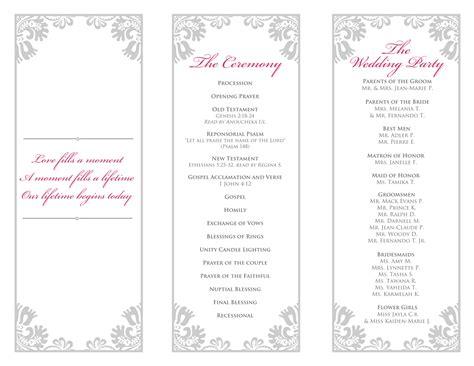 free tri fold wedding brochure templates fresh best printable