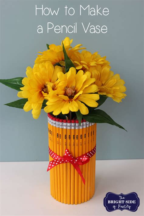 How To Throw A Vase by How To Make A Pencil Vase Tutorial Thebrightsideofreality