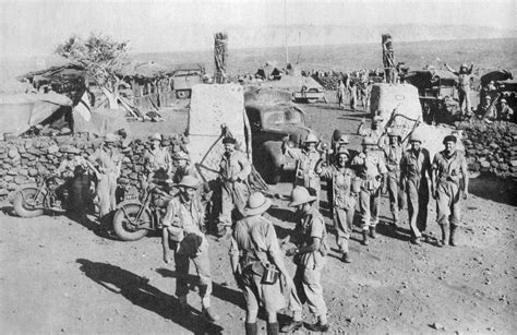 infantry section east african caign world war ii military wiki