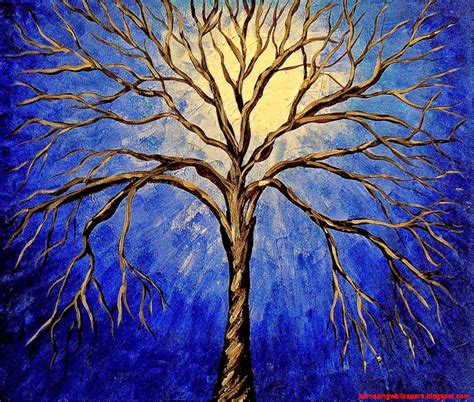 wallpaper trees abstract abstract tree painting blue amazing wallpapers