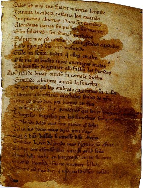 poema del mio cid cantar de mio cid wikipedia