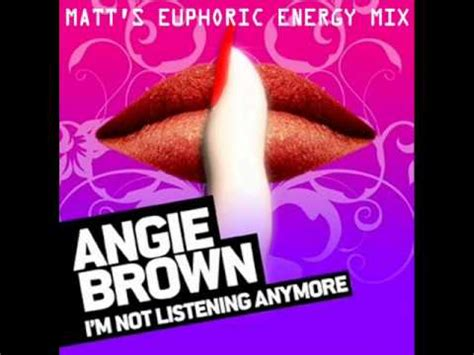 Lalalalalala Im Not Listening To You Anymore by Angie Brown I M Not Listening Anymore Matt Pop S