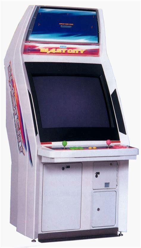 Arcade Cabinet by Fillmore Sega Arcade Cabinet Blast City