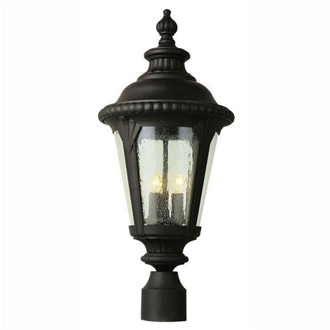 Outdoor Light Post Base Design House Black Outdoor Lantern Pier Base 502211 The Home Depot