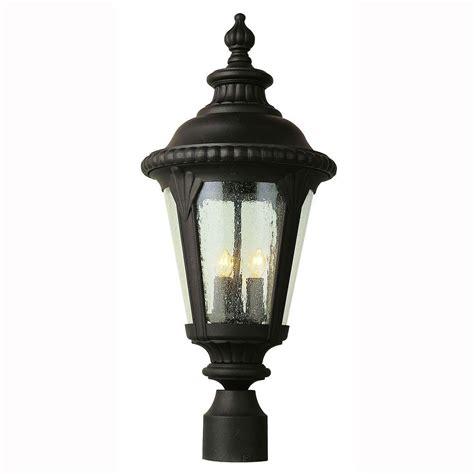 Outdoor Post Light Base Design House Black Outdoor Lantern Pier Base 502211 The Home Depot