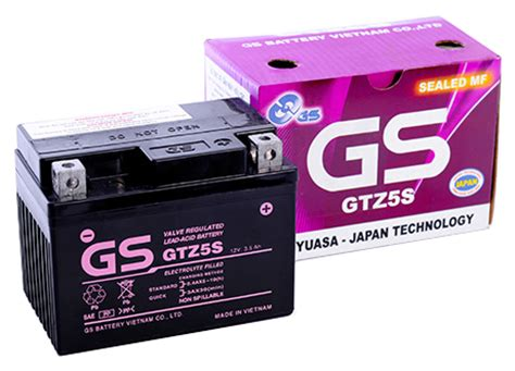 Accuaki Motor Gs Maintenance Free Gtz5s Kering gsv history c 244 ng ty tnhh ắc quy gs việt nam