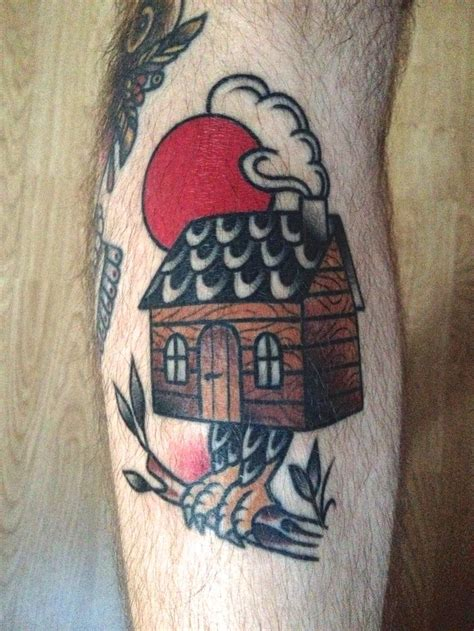 house tattoo nick colin corbett witch house baba yaga traditional