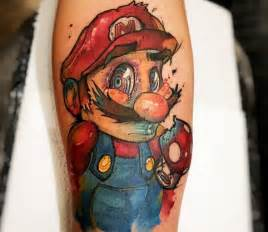 11 mario tattoo designs