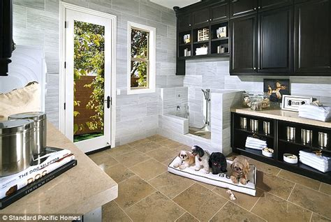 house amenities inside dog s homes that come fitted with everything a
