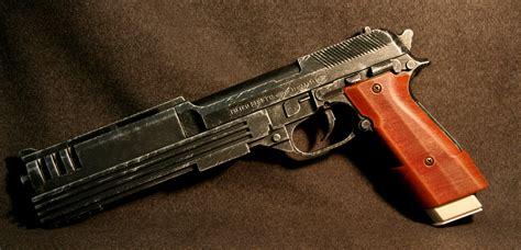 Handmade Pistols - custom beretta pistol by johnsonarmsprops on deviantart