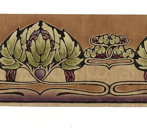 wallpaper border craft ideas arts and crafts style borders free wallpaper