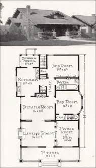 california craftsman bungalow house plan 1918 california style house floor plans home design and style