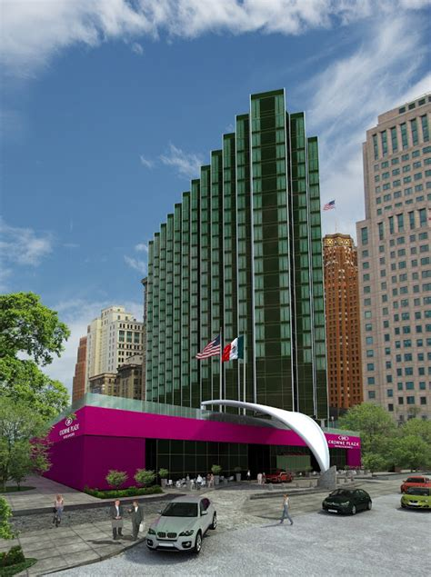 crowne plaza detroit new rendering of the crowne plaza hotel former ponch