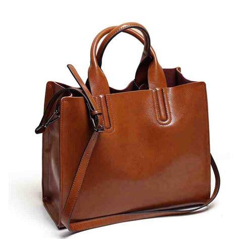 Tas Wanita Leather Shoulder Bag Handbag Crossbody Tote Purse aliexpress buy pu leather bags handbags brands big crossbody bag trunk