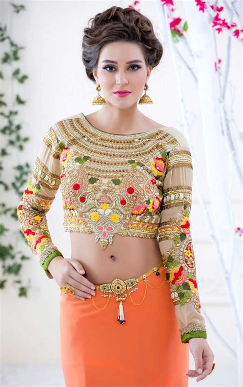 Sleeve Embroidery Blouse 2016 blouse designs buy california