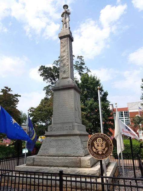 locals fear removal  confederate monument  mcdonough