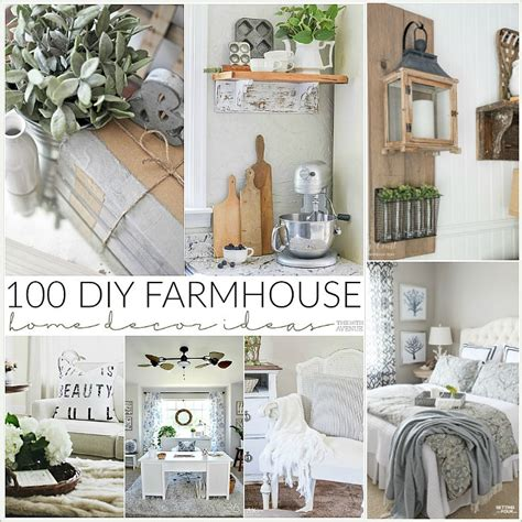 farmhouse home decor 100 diy farmhouse home decor ideas the 36th avenue