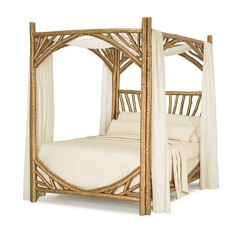 gold canopy bed rustic canopy bed la lune collection