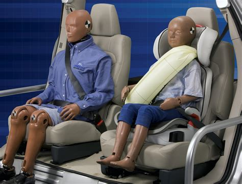 inflatable seat belts would you pay extra for inflatable rear belts cars trucks