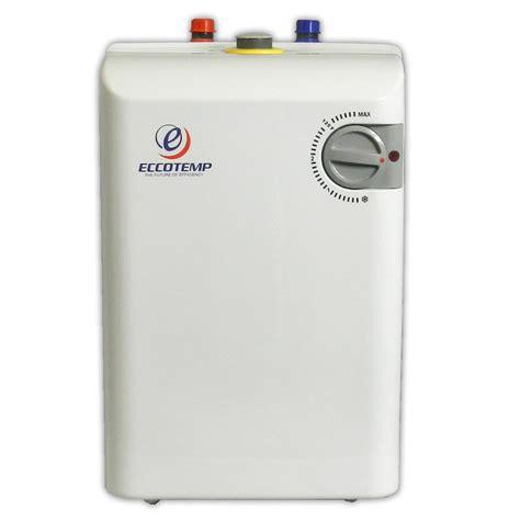 small electric water heater eccotemp mini tank electric water heater 621036