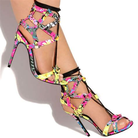 multi colored sandal heels privileged multicolor lace up sandal heels designer