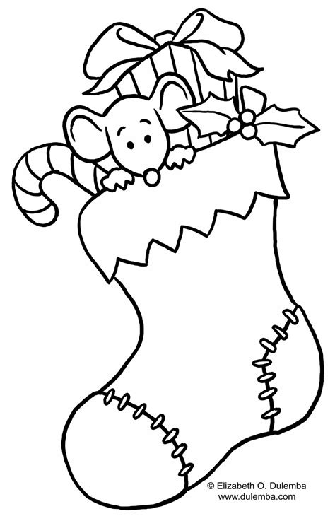 christmas stocking coloring page gt gt disney coloring pages