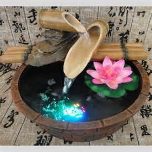 fontaine d int 233 rieur n 233 nuphare et bambou sur grossiste