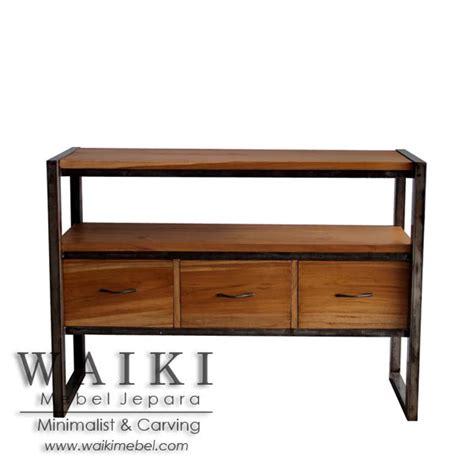 Buffet Kayu buffet kayu besi pratama iron wood buffet furniture